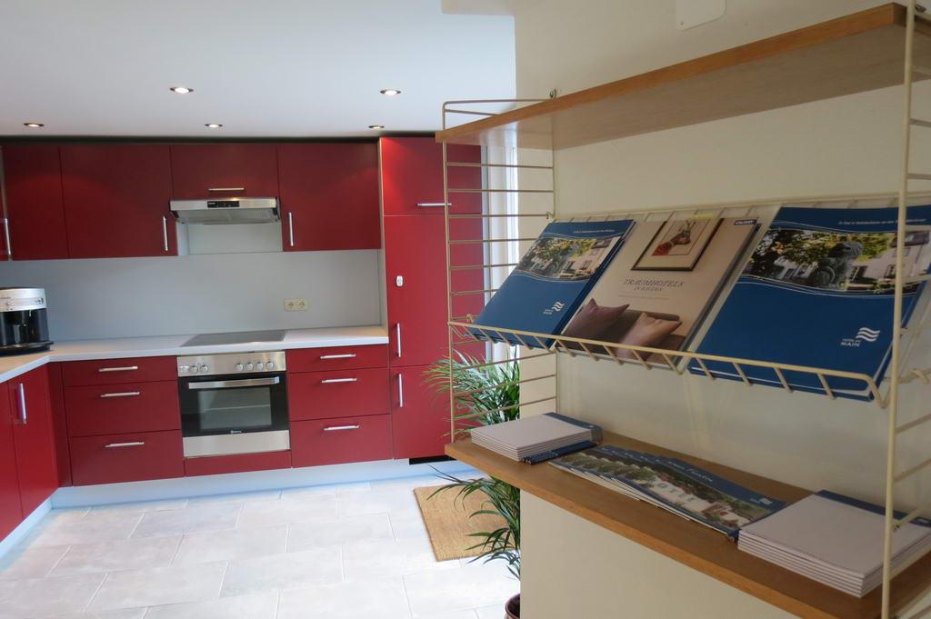 Tagungshaus Küche Aufenthaltsbereich