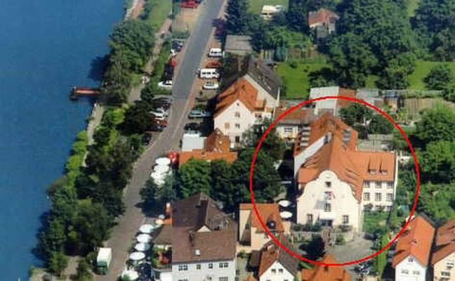 Hotel am Main aus der Luft