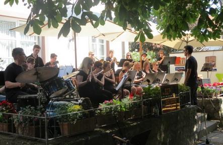 Jazzfrühschoppen B27 Big Band Musikschule Veitshöchheim