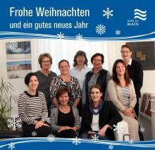 Weihnachtsgrüße Hotel am Main Team